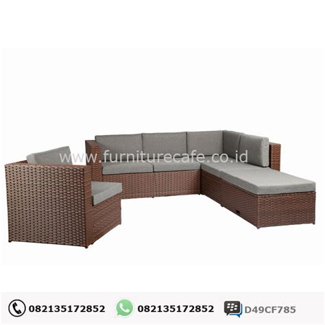 Kursi Rotan Jepara jual sofa rotan minimalis model terbaru harga murah furniturecafe co id furniture cafe