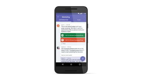 microsoft mobile software introducing microsoft teams the new chat based workspace