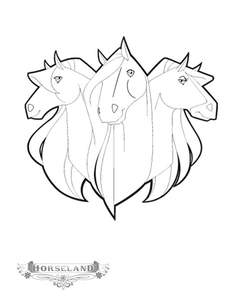 Coloring Page Horseland Coloring Pages 2 Tv Show Coloring Pages