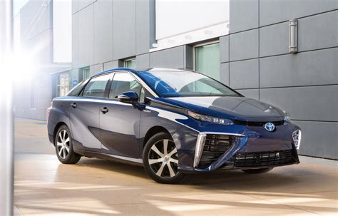 Toyota Vehicles 2016 2016 Toyota Mirai Name For Fuel Cell Sedan Hydrogen