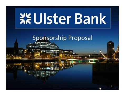 Ulster Bank Sponsorship Strategy