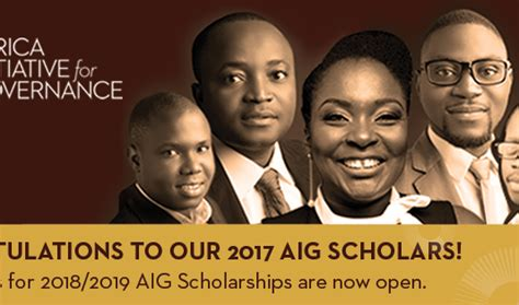 Aig Mba Internship by Scholarships Opportunities For Africans Page 7