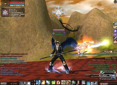 rizky  hours rf  black skin sayap  dragon armor