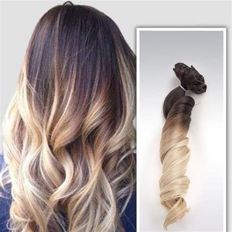ombre bunette blonde brunette on bottom 57 off other ombre hair extensions brunette to blonde