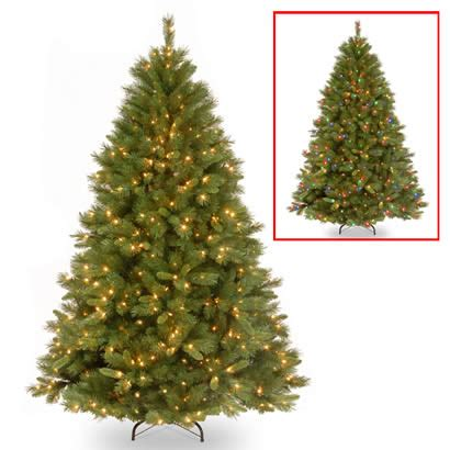 dual light tree 7 1 2 ft winchester pine tree with 500 dual led