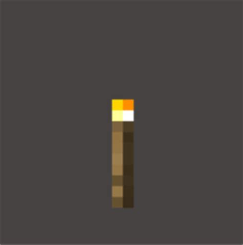 Minecraft Torch L by Real Minecraft Torch 3d Printed And Painted 2