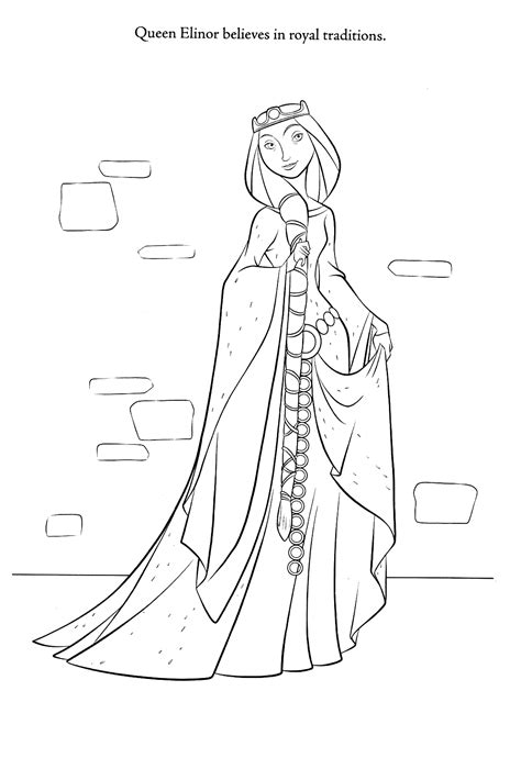 Colorng Pages Brave Coloring Pages Best Coloring Pages For