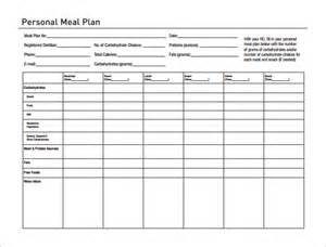 plan template pdf 14 meal planning template free premium templates