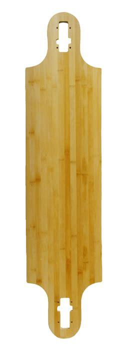 blank bamboo longboard decks blank bamboo drop thru freeride longboard deck deck only