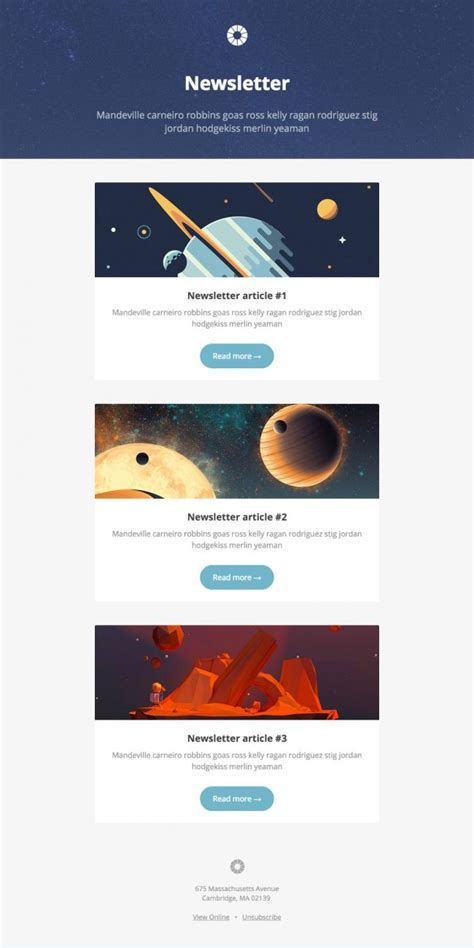 Email Marketing Caign Templates Free 5 inspiradores designs de template para email marketing