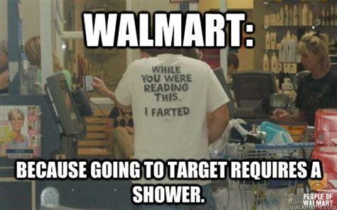 Funny Walmart Memes - walmart meme 001 target requires showers walmart memes