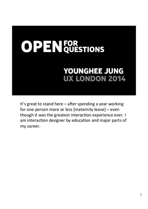 open for open questions ux 2014
