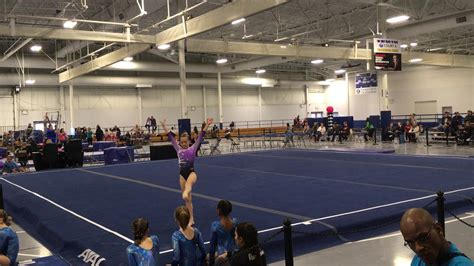 level floor 2018 gymnastics level 4 floor routine rockstar meet 2018