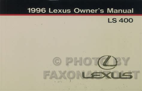 service manual 2002 lexus ls service manual free 2002 lexus ls430 owner s owners manual 1996 lexus ls 400 owners manual original