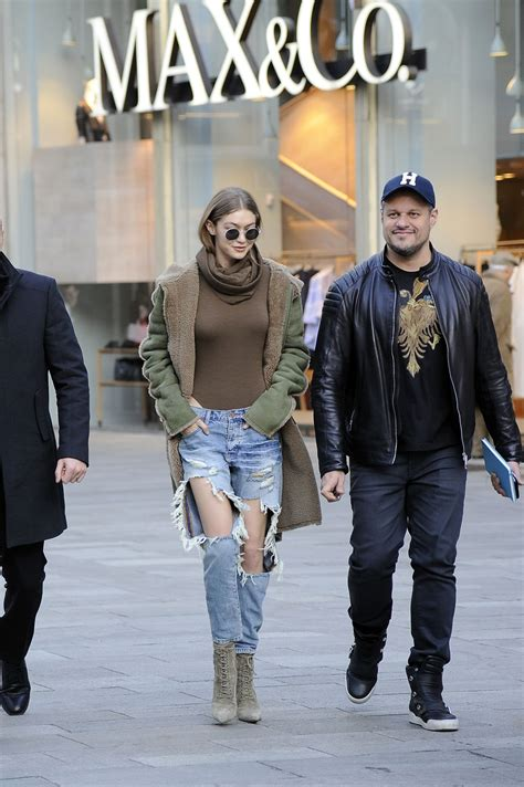 Milan Ripped gigi hadid in ripped out in milan italy 2 21 2017