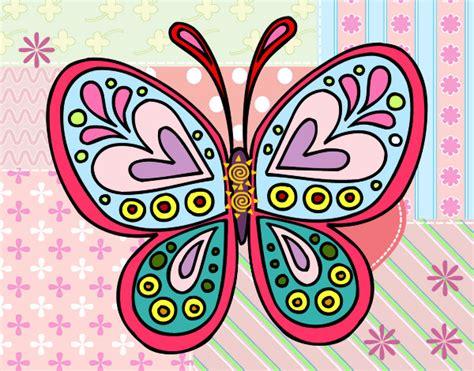 imagenes de mandalas de mariposas para colorear mandala mariposa mandalas pintado por yezus 9765133 jpg