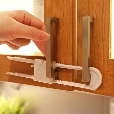 baby safety cabinet locks 2pcs u shaped lock child safety lock baby safety cabinet