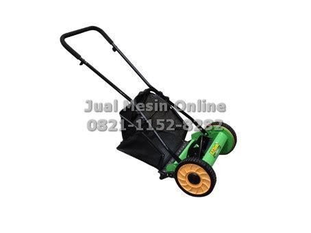 Mesin Potong Rumput Manual jual mesin potong rumput dorong manual ez tools 14 reel mower berkualitas jualmesinonline