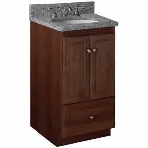 bathroom vanities strasser woodenworks 18 quot w simplicity