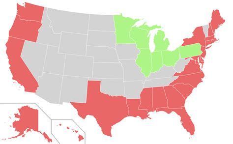 map of the united states pacific coast coastal states wikipedia