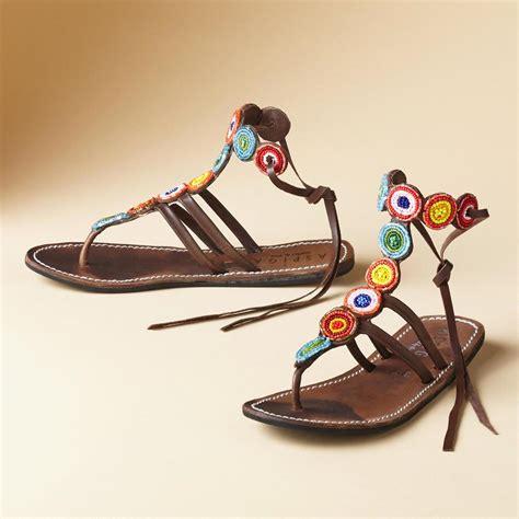 Sandal Tribal beaded tribal sandals sandals footwear bags