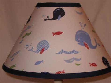 whale light pottery barn jackson whale fabric l shade mm pottery barn