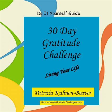 the gratitude experiment a 30 day journal books 30 day gratitude challenge self guide book 453766