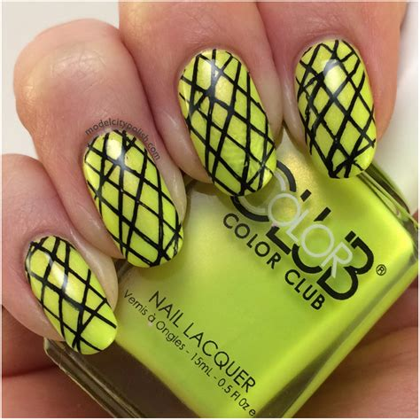 Not So Mellow Yellow by Color Club Not So Mellow Yellow 3dc2014 Day 16