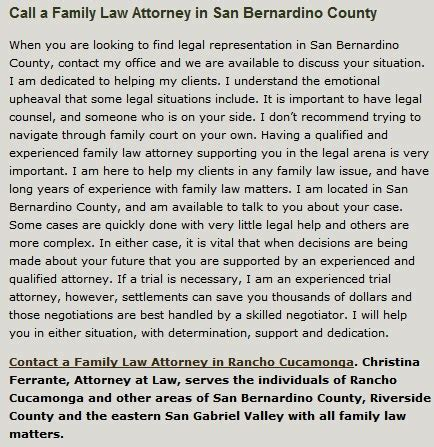 Attorney Rancho Cucamonga - family attorney rancho cucamonga divorce attorney