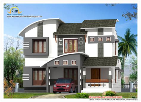house elevation designs house elevation 2210 sq ft kerala home design and floor plans