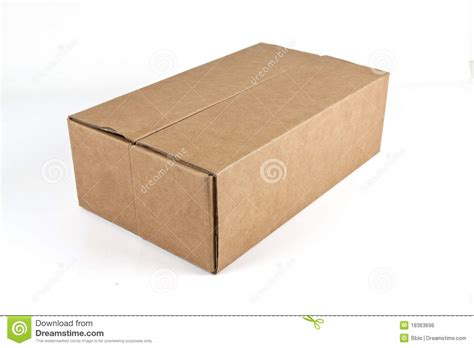 Craft Paper Box - craft paper box royalty free stock image image 18363696