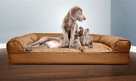 sofa style orthopedic pet bed up to 86 off on sofa style orthopedic pet bed groupon goods