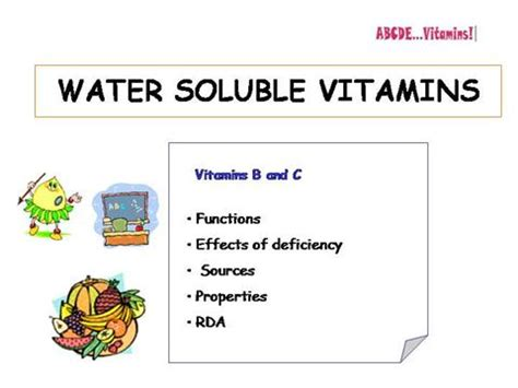 powerpoint themes vitamins water soluble vitamins authorstream