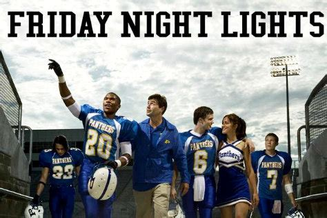 friday night lights tv series friday night lights a movie based on a tv show which was