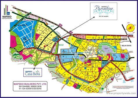 layout plan of panchkula urban complex mapsko paradise sector 83 gurgaon apartment flat