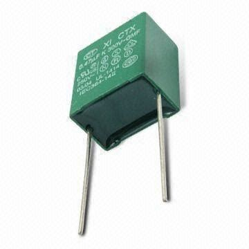 polyester box type capacitor metallized polyester capacitor in box type with high moisture resistance on global sources