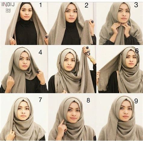 tutorial turban rawis 668 best casual hijab outfits muskajahan com images on