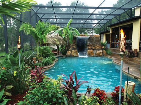 tropical backyards with a pool home designer tropical backyard pool designs backyard pool designs for