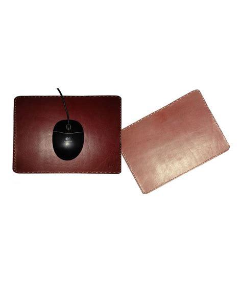 pc handicrafts handmade premium leather mousepad buy pc