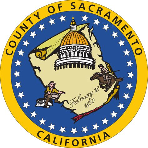 Sacramento County Search File Seal Of Sacramento County California Svg Wikimedia Commons