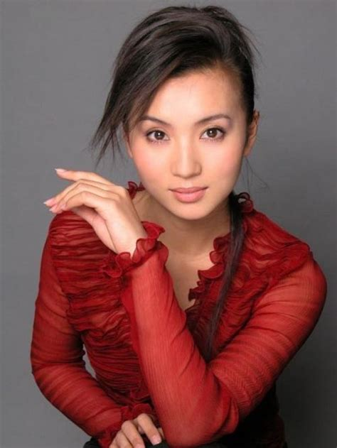 eva cheng actress chinese models pictures gallery chen hao sexy in red dress