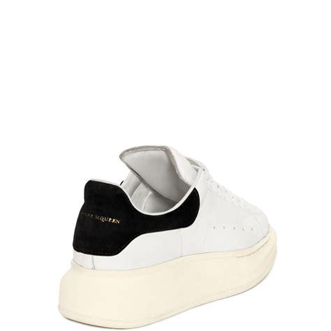 alexander mcqueen oversized sneaker  white  men lyst