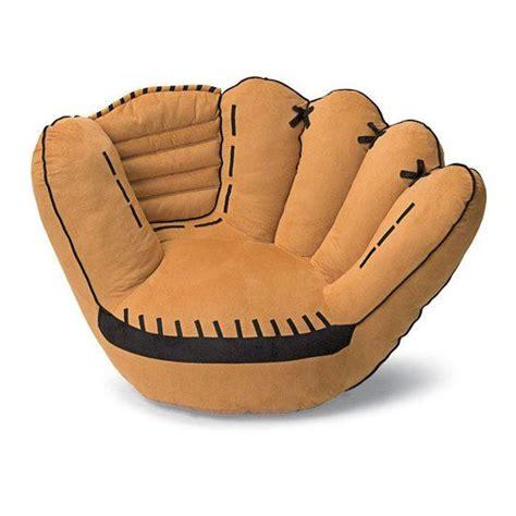 baseball sofa baseball glove sofa chair great for reading for kids