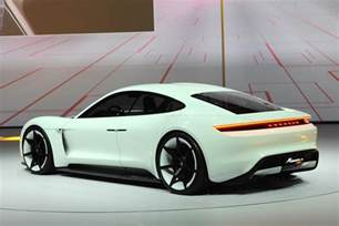 Porsche Photo Production Spec Porsche Mission E Will Be Similar To The
