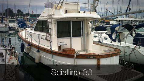 barca cabinata usata sciallino 33 barca usata a motore cantiere sciallino