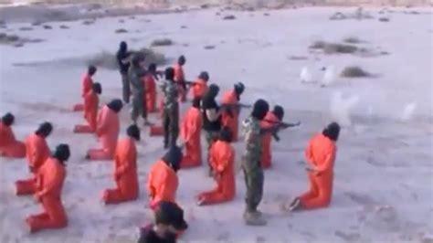 imagenes fuertes estado islamico fuertes im 193 genes se visten de naranja y ejecutan
