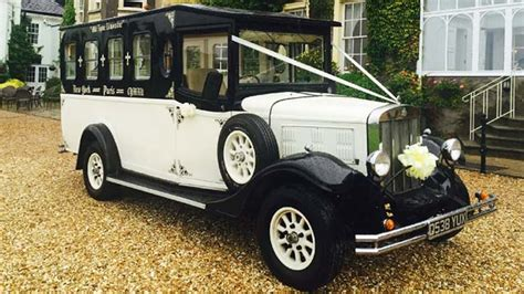 vintage wedding cars for hire arriving in style classic and fun wedding cars crondon