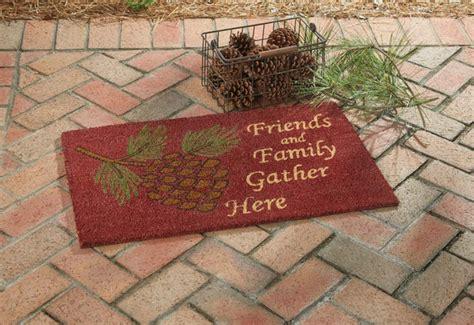 pinecone doormat park designs
