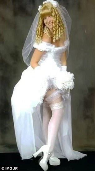imgur pictures show  worst wedding dresses  daily