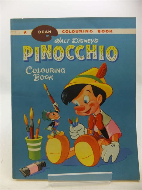 pinocchio picture book walt disney s pinocchio colouring book written by disney